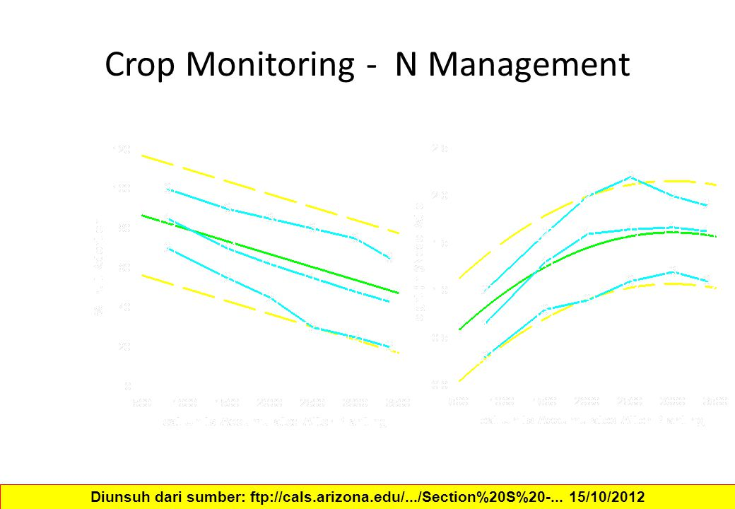 Crop Monitoring - N Management