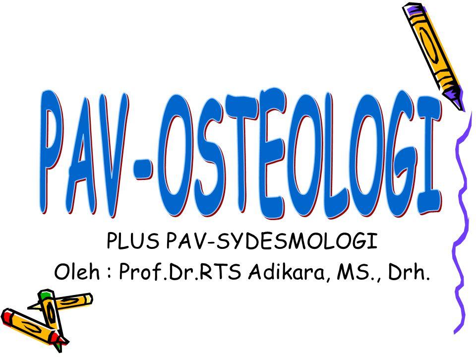 Oleh : Prof.Dr.RTS Adikara, MS., Drh.