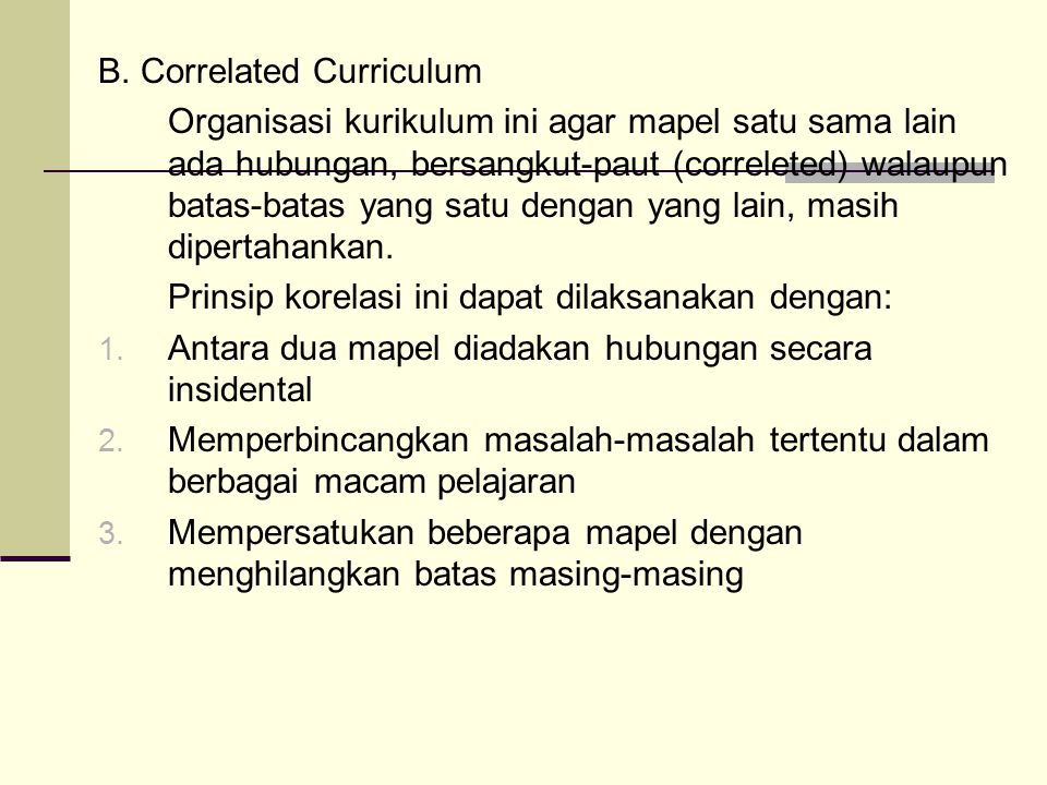 B. Correlated Curriculum