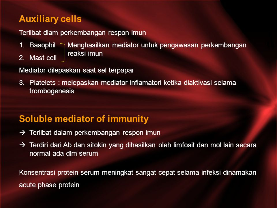 Soluble mediator of immunity