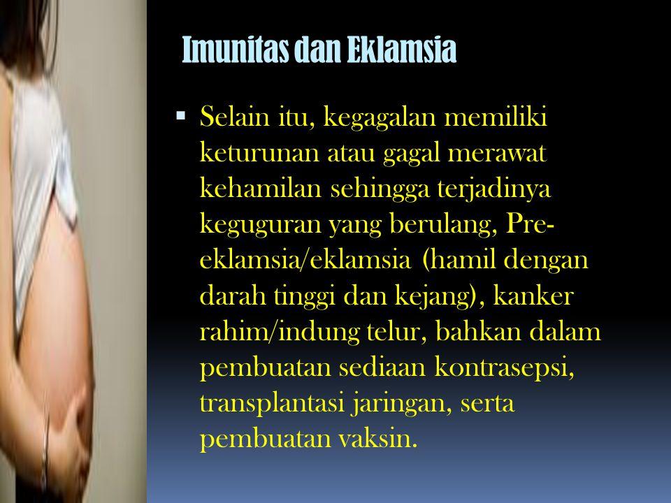 Imunitas dan Eklamsia