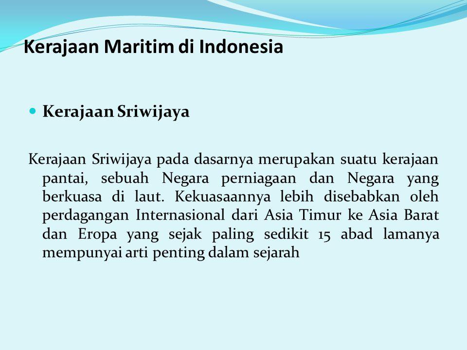 Kerajaan Maritim di Indonesia
