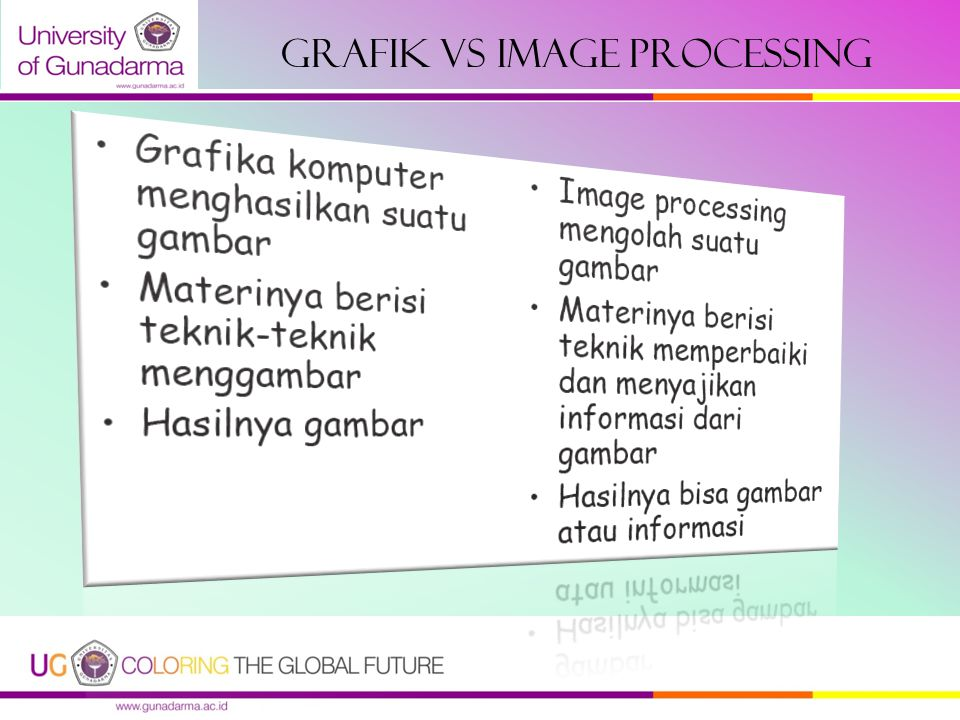 GRAFIK VS IMAGE PROCESSING