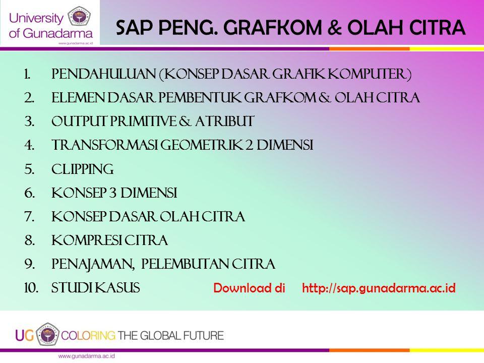 SAP PENG. GRAFKOM & OLAH CITRA