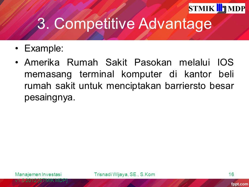 3. Competitive Advantage