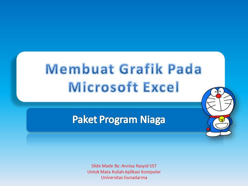 Membuat Grafik Pada Microsoft Excel
