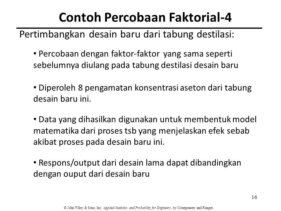 Contoh Percobaan Faktorial-4