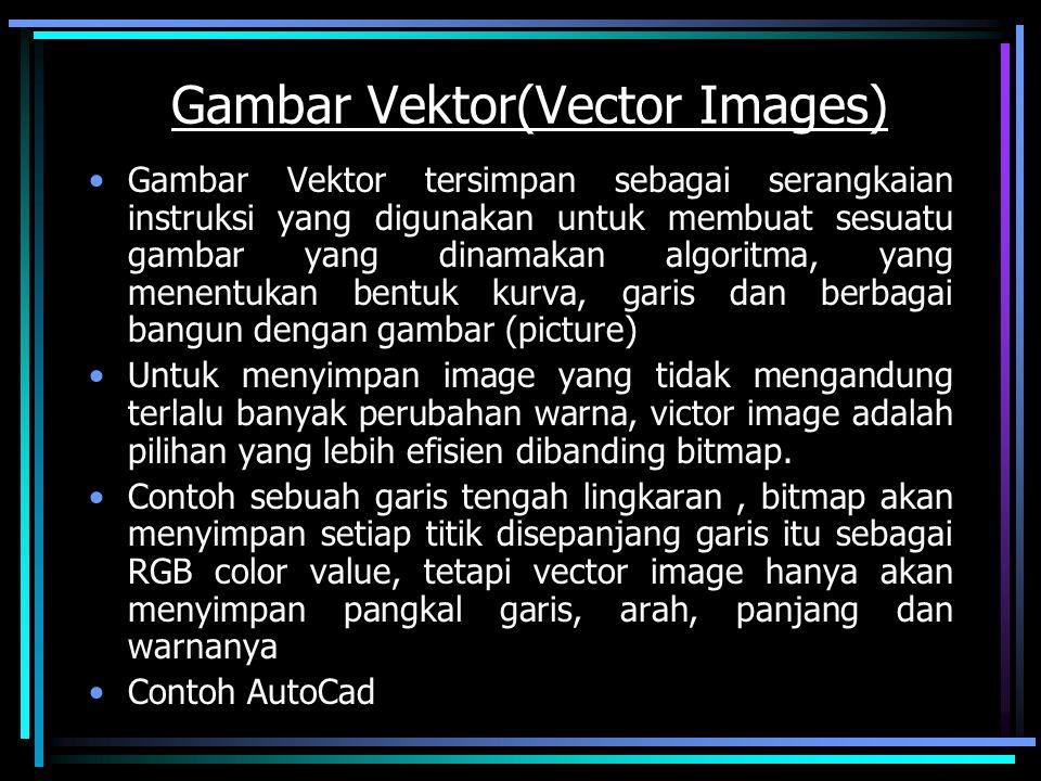 Gambar Vektor(Vector Images)