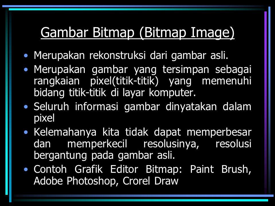 Gambar Bitmap (Bitmap Image)