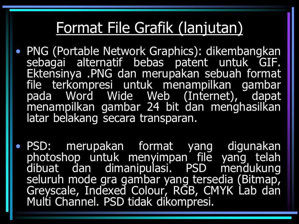 Format File Grafik (lanjutan)