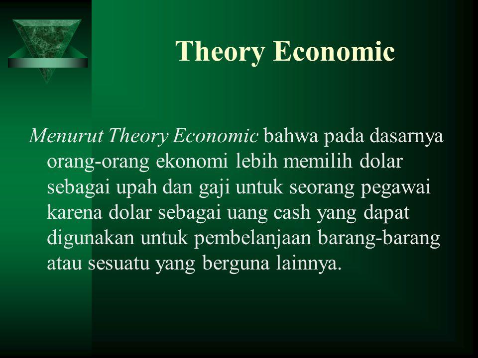 Theory Economic