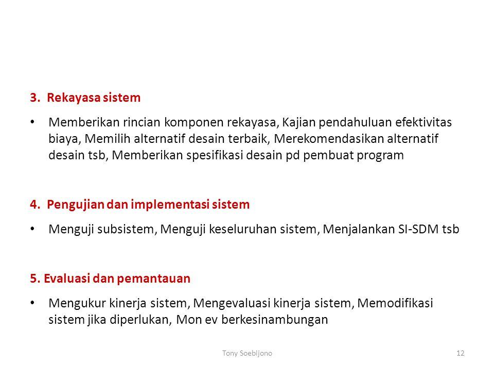 4. Pengujian dan implementasi sistem