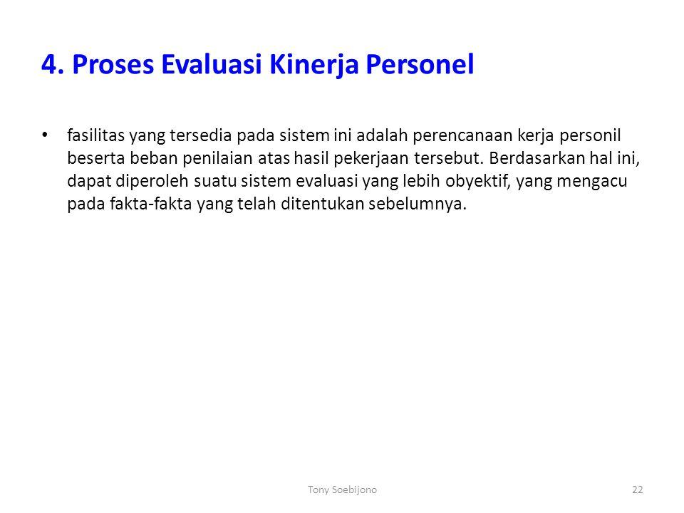 4. Proses Evaluasi Kinerja Personel