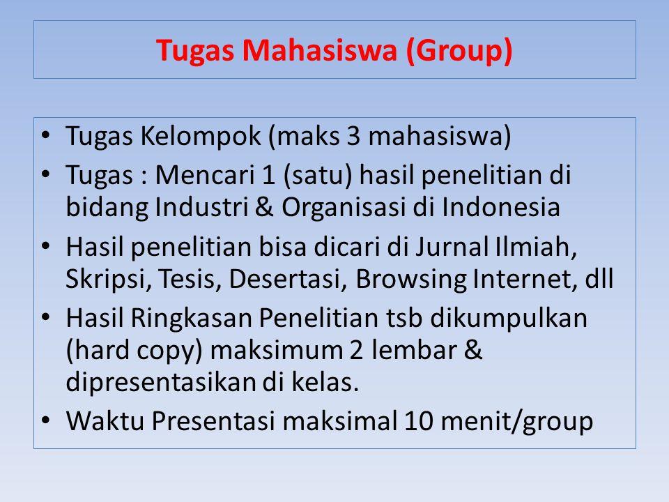 Tugas Mahasiswa (Group)