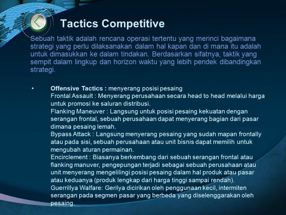 Tactics Competitive