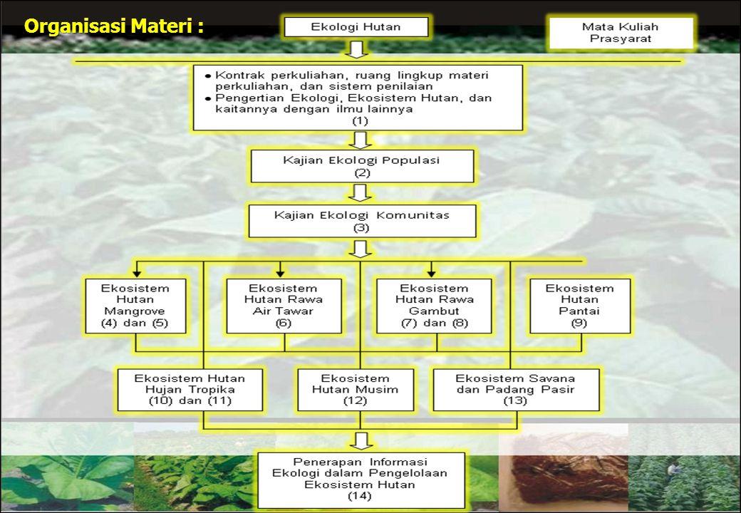 Organisasi Materi :