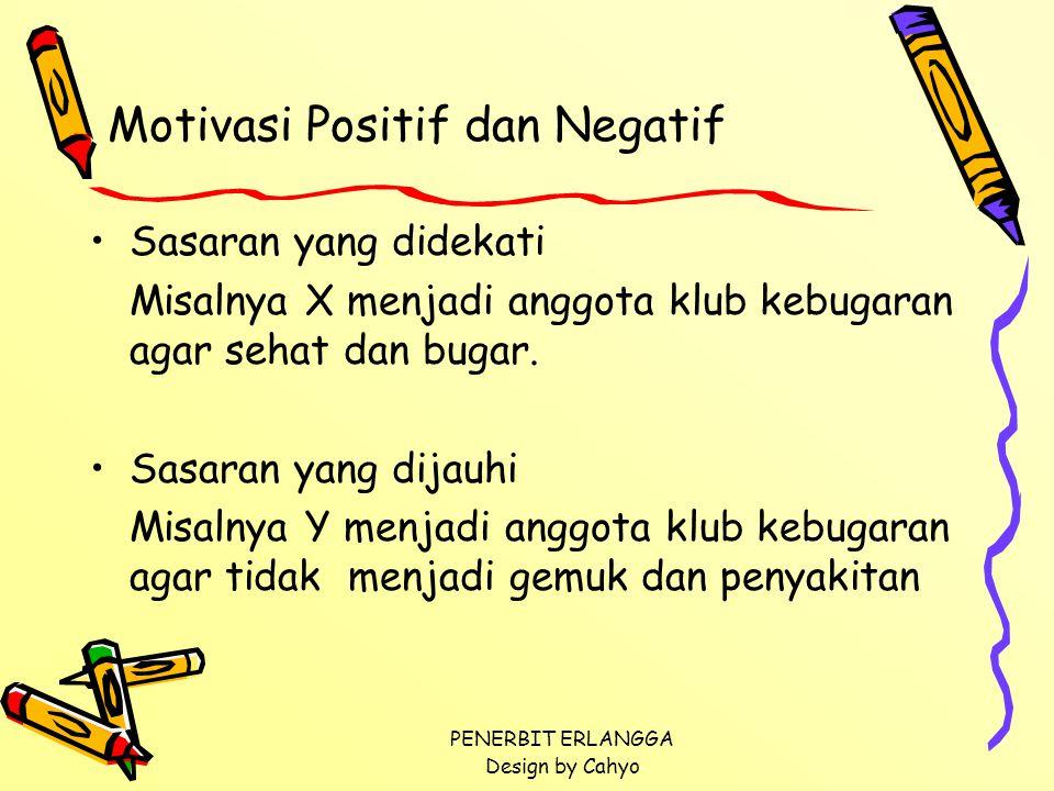 Motivasi Positif dan Negatif