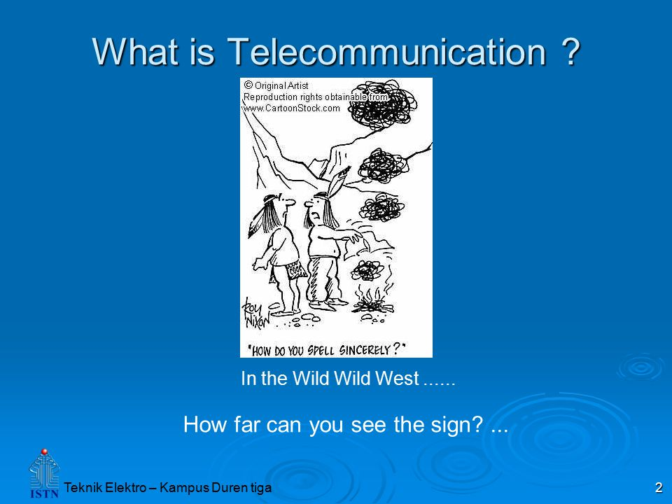 What is Telecommunication