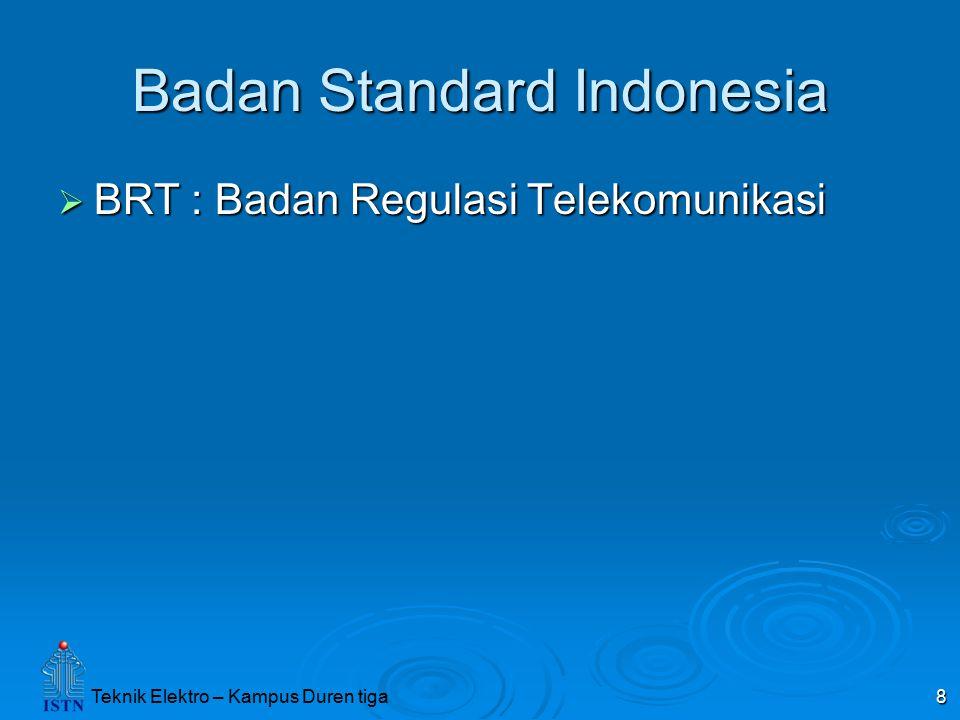 Badan Standard Indonesia