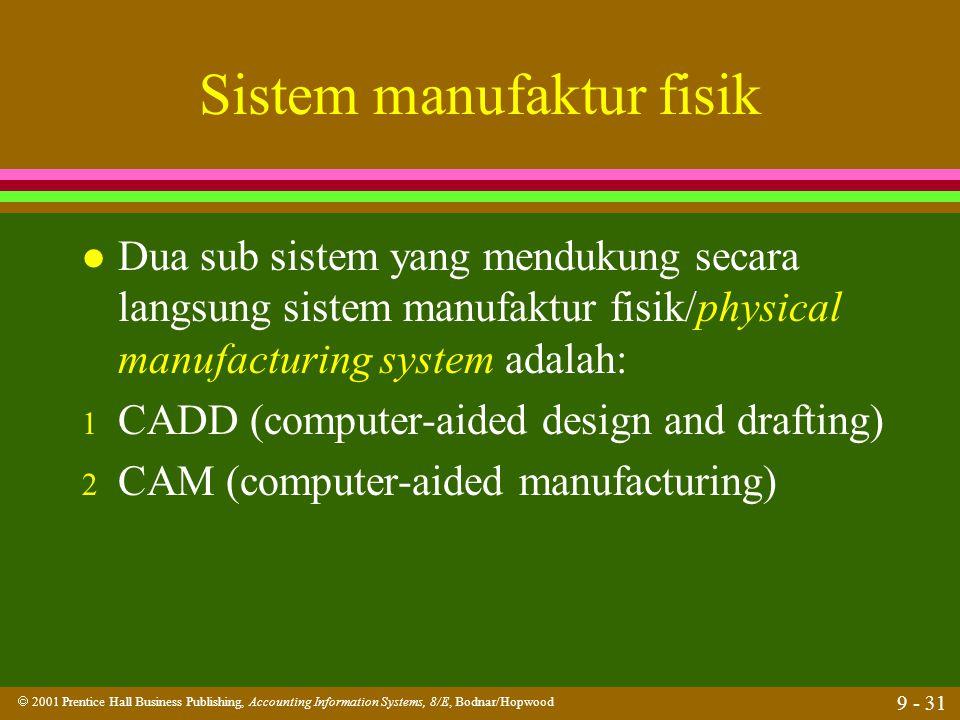 Sistem manufaktur fisik