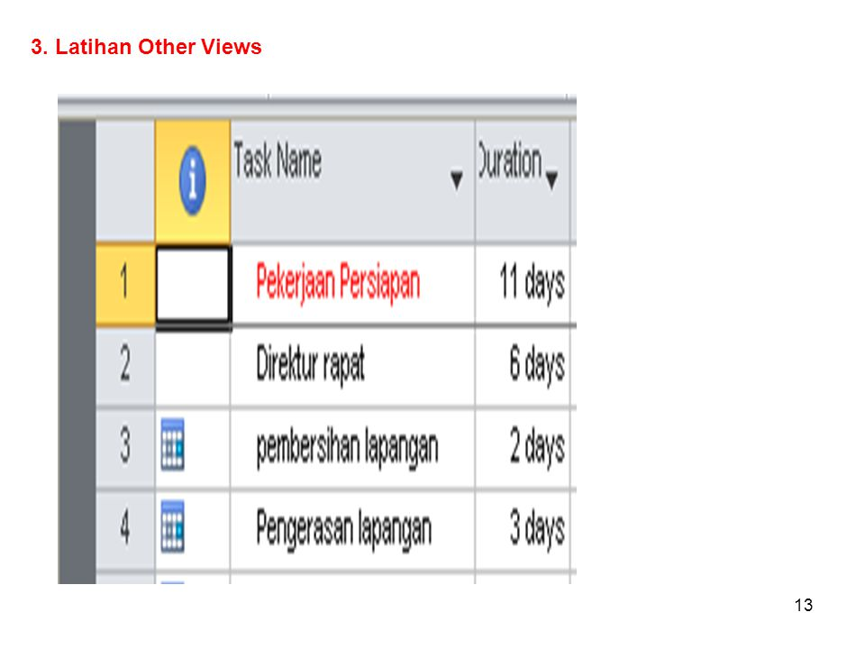 3. Latihan Other Views