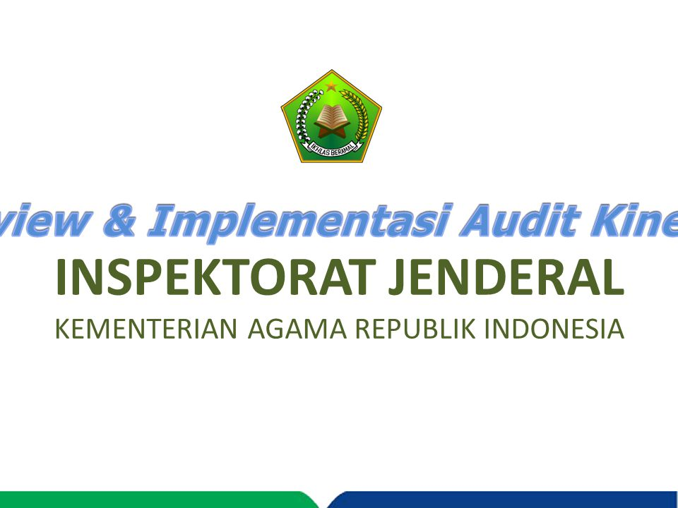 Review & Implementasi Audit Kinerja