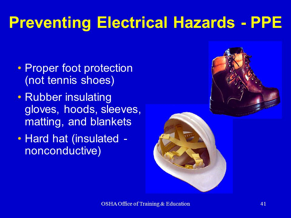 Preventing Electrical Hazards - PPE