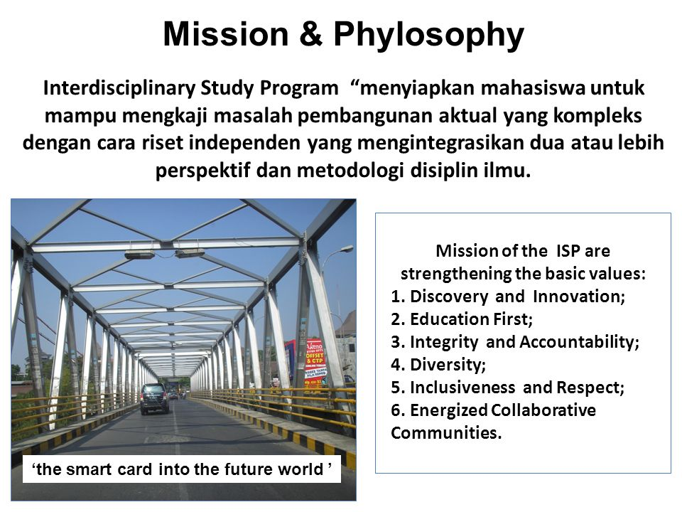 Mission & Phylosophy