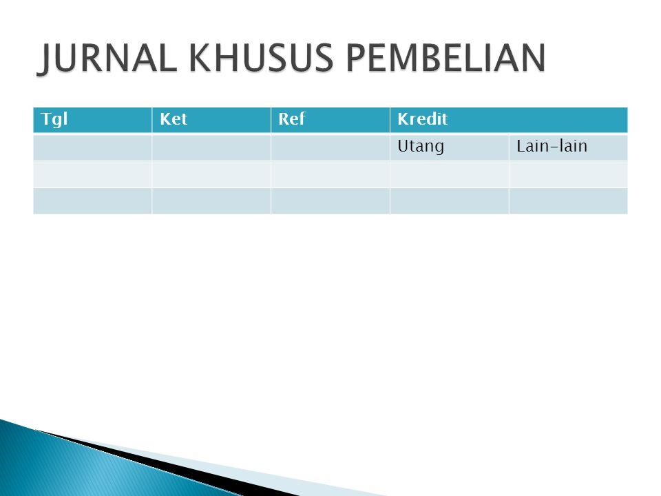 JURNAL KHUSUS PEMBELIAN