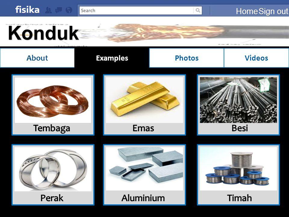 Konduktor Tembaga Emas Besi Perak Aluminium Timah Home Sign out About