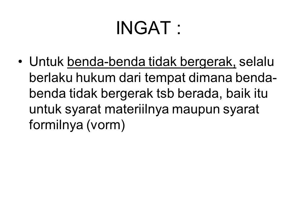 INGAT :