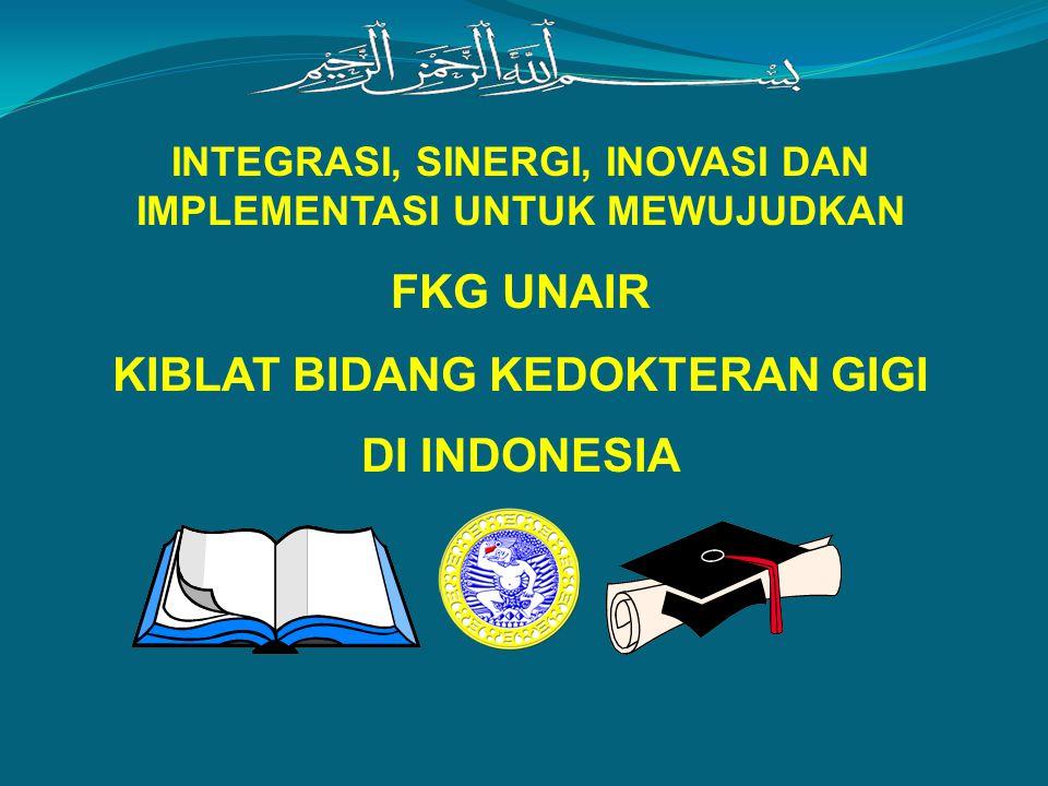 FKG UNAIR KIBLAT BIDANG KEDOKTERAN GIGI DI INDONESIA