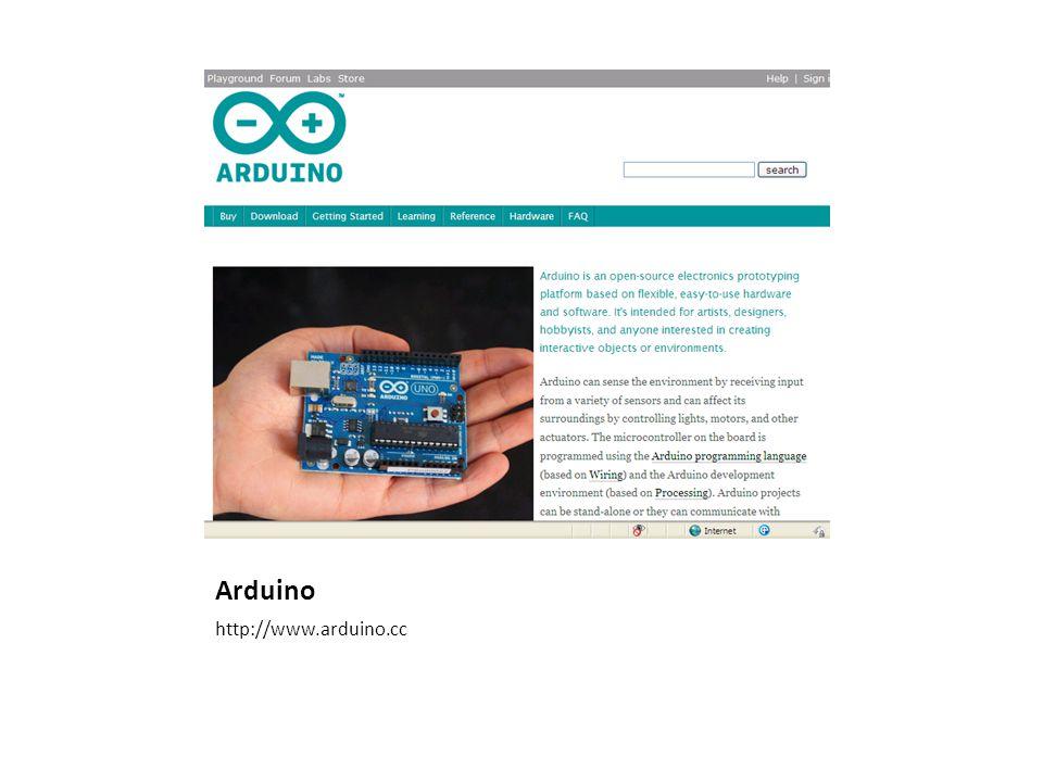 Arduino http://www.arduino.cc