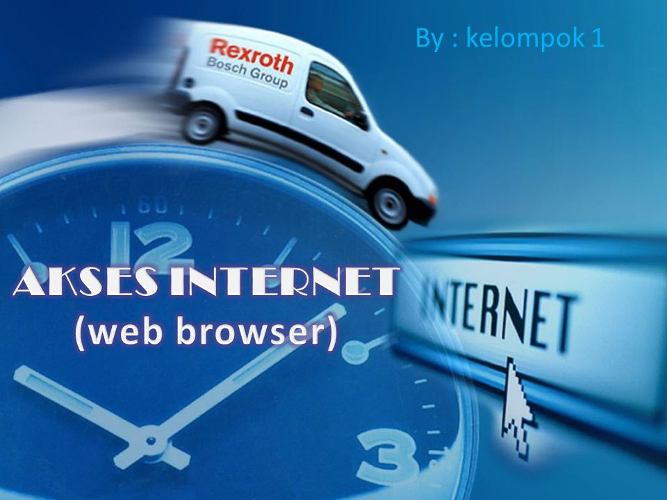 AKSES INTERNET (web browser)