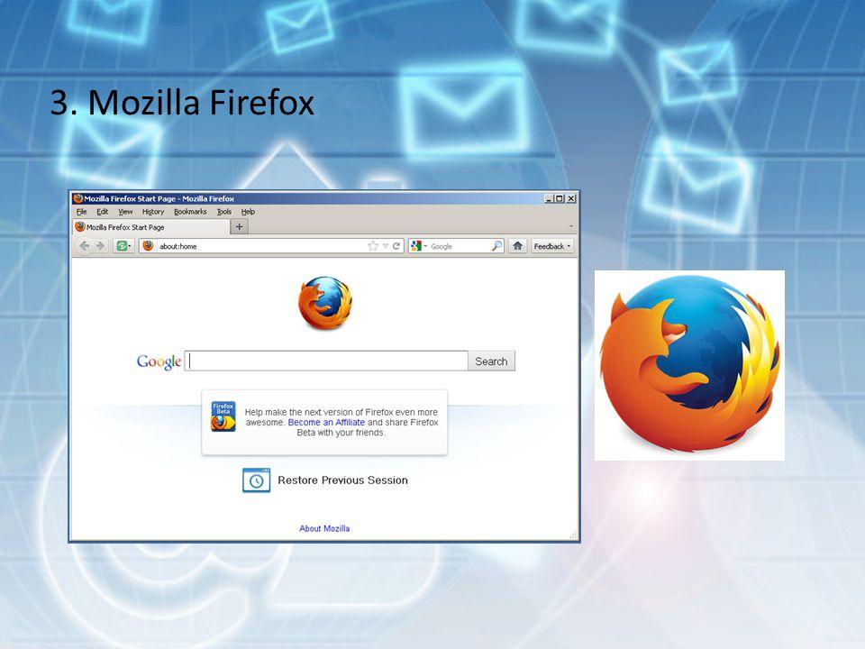 3. Mozilla Firefox
