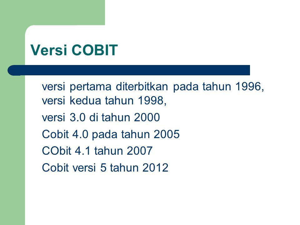 Versi COBIT