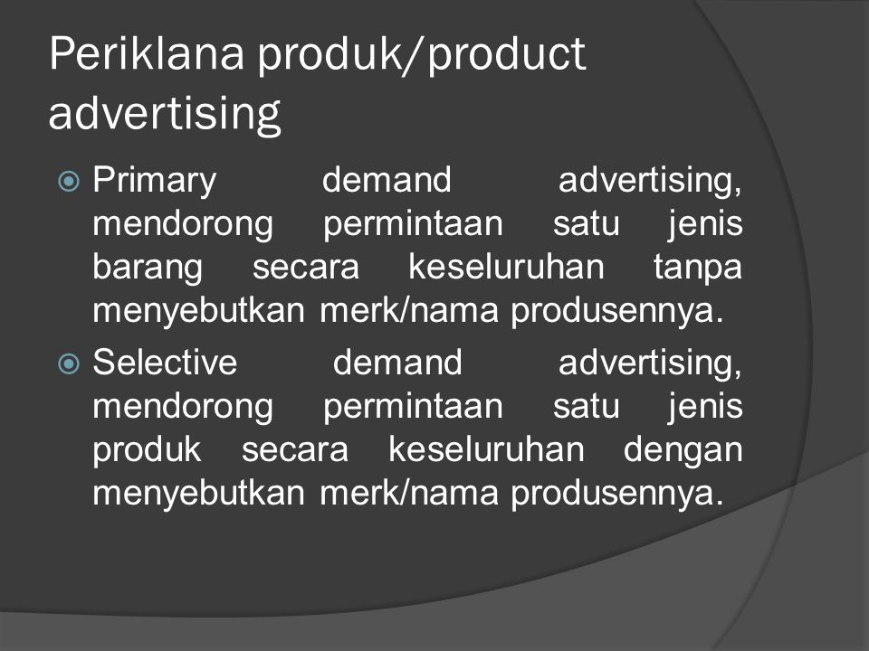 Periklana produk/product advertising