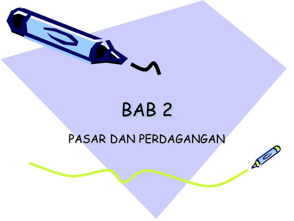 BAB 2 PASAR DAN PERDAGANGAN
