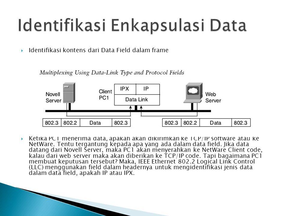 Identifikasi Enkapsulasi Data