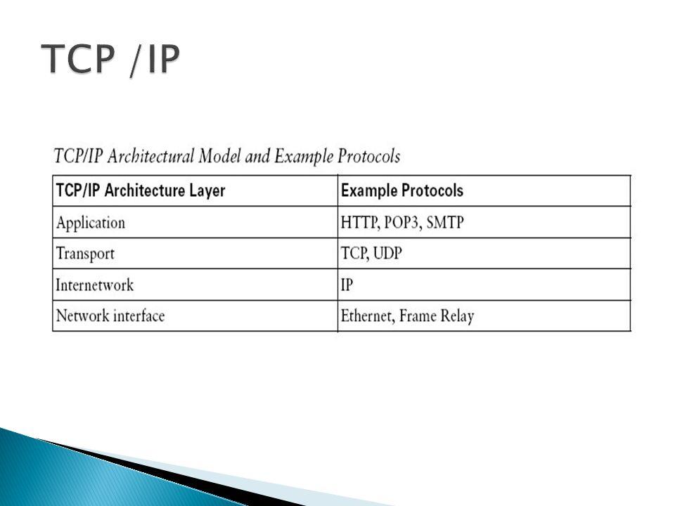 TCP /IP