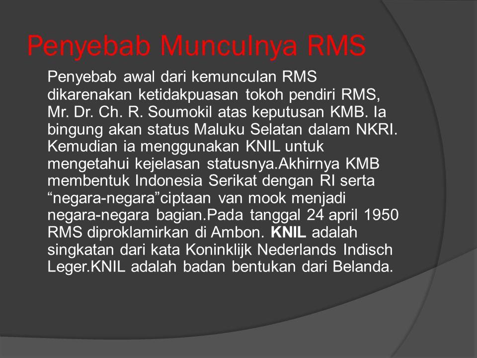 Penyebab Munculnya RMS