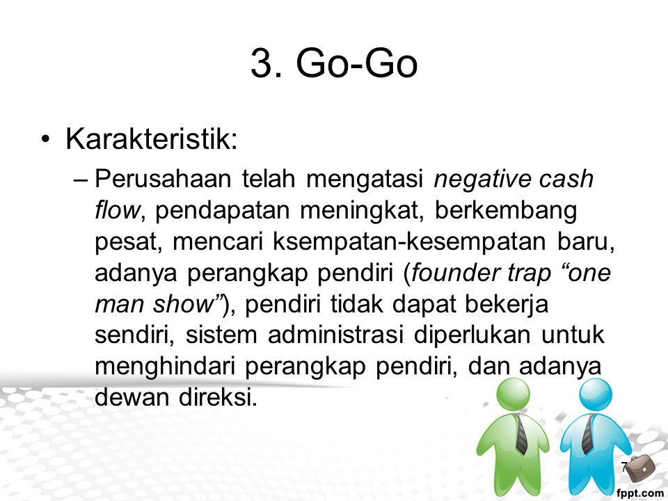 3. Go-Go Karakteristik: