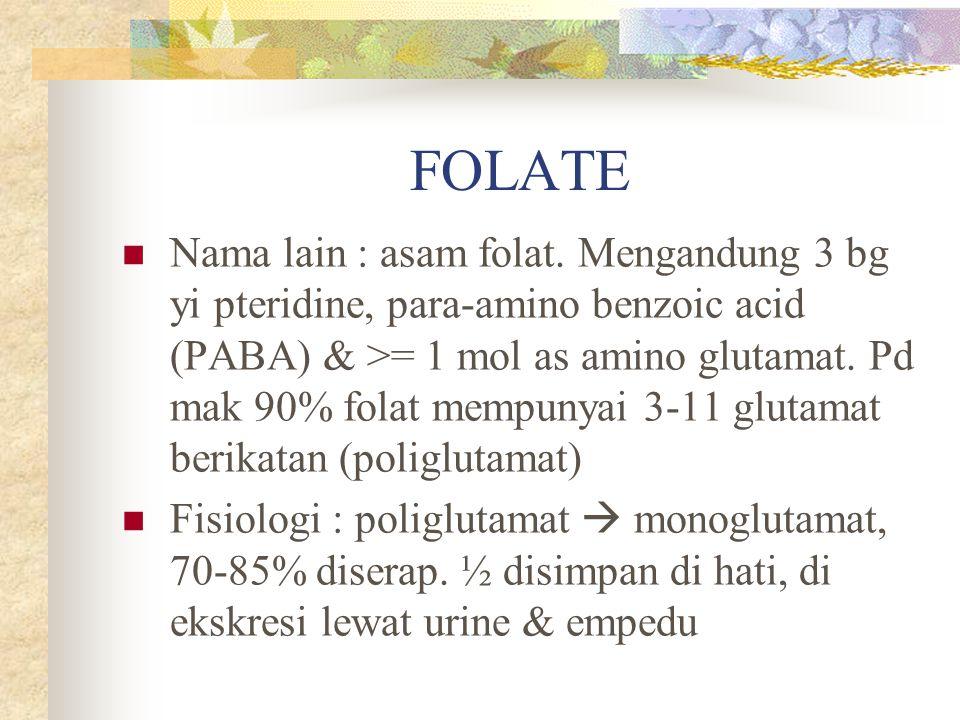 FOLATE
