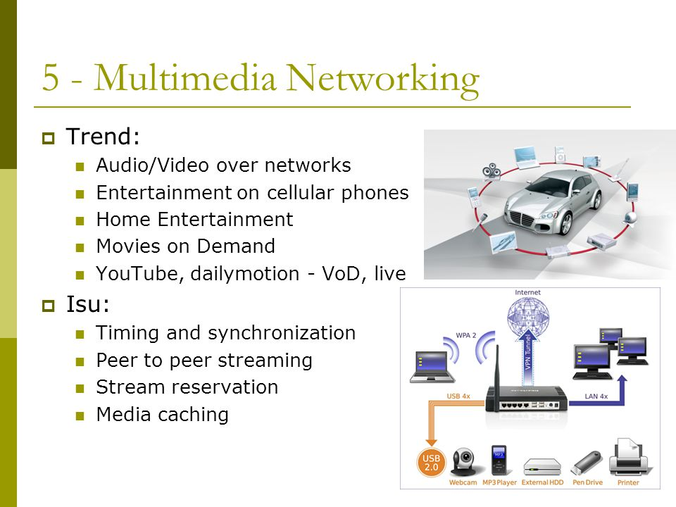 5 - Multimedia Networking