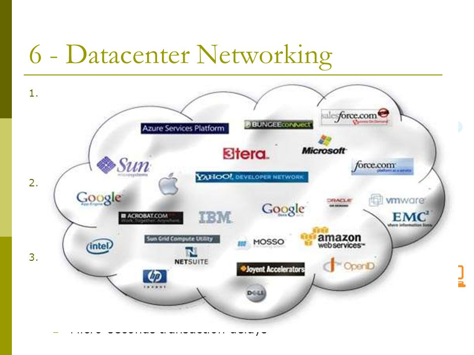 6 - Datacenter Networking