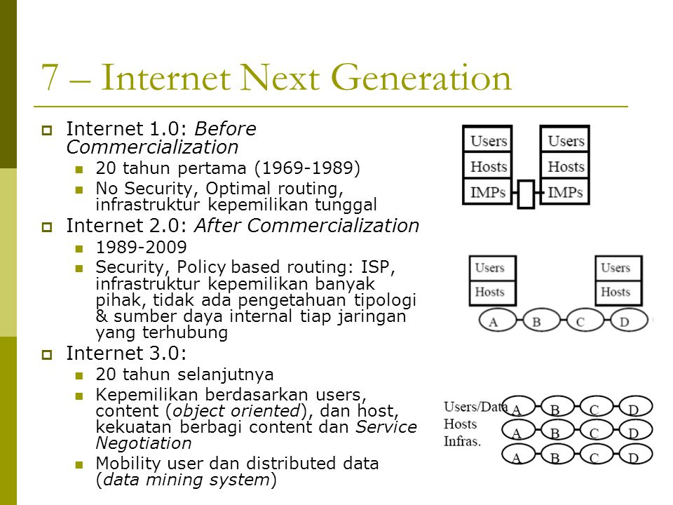 7 – Internet Next Generation