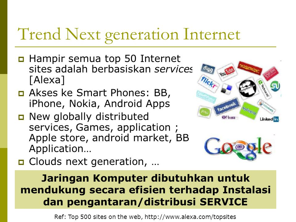 Trend Next generation Internet