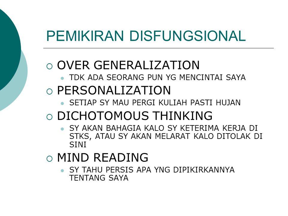 PEMIKIRAN DISFUNGSIONAL