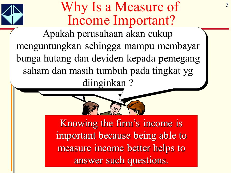 Why Is a Measure of Income Important