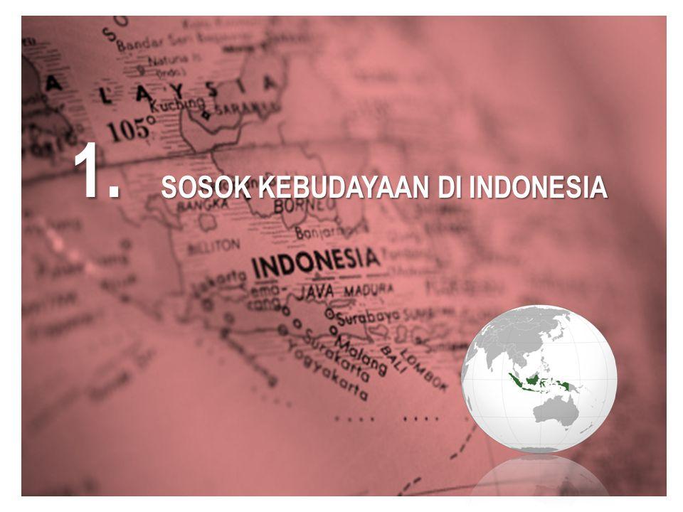 1. SOSOK KEBUDAYAAN DI INDONESIA